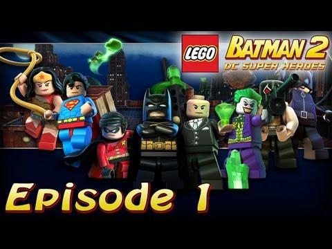 Épisode 1 - Poursuite au Théâtre - [Série] Lego Batman 2 : DC Super Heroes