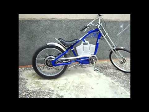 Bici electrica chopper