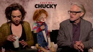 "IR Interview: Fiona Dourif & Brad Dourif For ""Cult Of Chucky"" [Universal Studios Home Entertainment]"