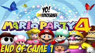 Mario Party 4! End of Game 1 - YoVideogames