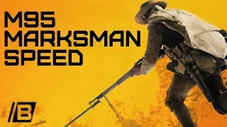BF1: The speed of the M95 marksman! - Twitch Highlight - Scout gameplay
