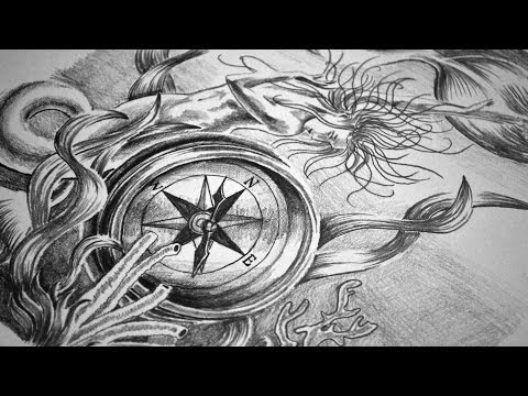 Full Sleeve Tattoo Design Speed Drawing