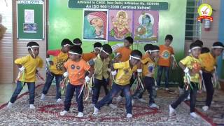 Valedictory Function Dance by LKG Boys