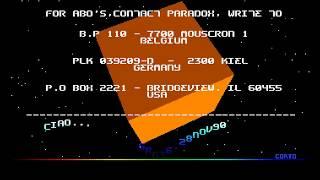 Amiga Cracktro : Stun Runner / Paradox (1990) (HD 50 fps)