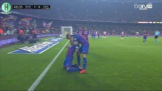 ملخص مبارة برشلونة و  غرناطة | 1-0  | الدوري الإسباني |   29-10-2016