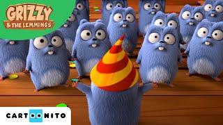 Grizzy und die Lemminge | Geburtstagslemming | Boomerang