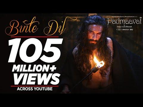 Padmaavat: Binte Dil Video Song   Arijit Singh   Ranveer Singh   Deepika Padukone   Shahid Kapoor
