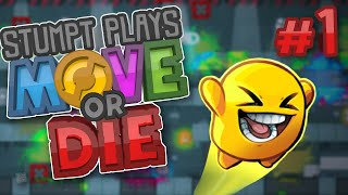 Move or Die - #1 - Hot Little Potatoes (4 Player Gameplay)