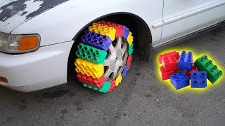 We Made a TIRE out of LEGOS