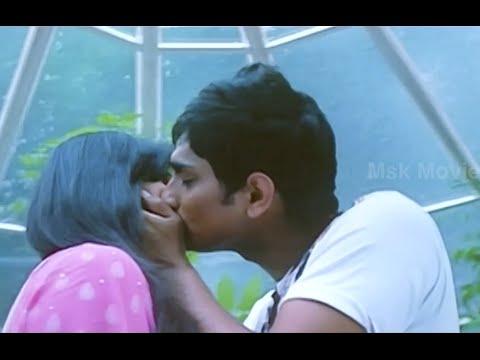 Sidharth - Hansika Romantic Kissing Scene -