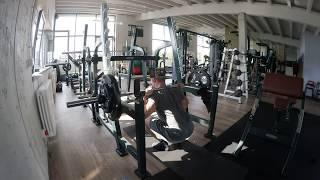 GVT German Volume Training Phase II Beine&Bauch Training