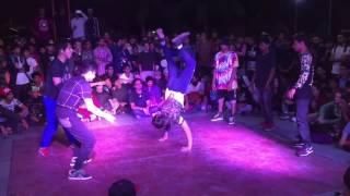 PSD crew vs BeastMode Crew  |3 on 3 Breaking| Delhi funk Circle 7
