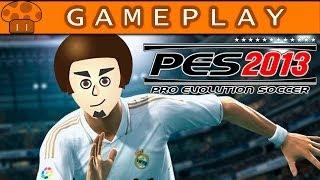Pro Evolution Soccer 2013 PS2 Gameplay - Cogumelo Marrom