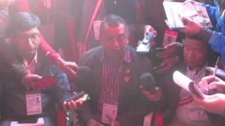Nepali Congress General Convention: General Secretary candidate Gagan Thapa organises press meet