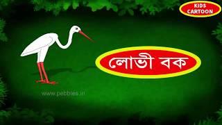 শিশুতোষ বিষয়ক বাংলা কার্টুন লোভী বক