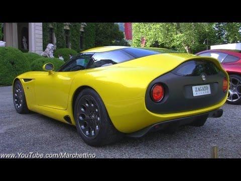 Alfa Romeo TZ3 Zagato V10 Exhaust Sound
