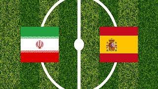 2018 World Cup: IR Iran vs Spain | Amazing Race