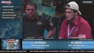 Yu-Gi-Oh! World Championship 2016 Final:Shunsuke Hiyama(Japan) VS  Erik Christensen(U.S.A) !
