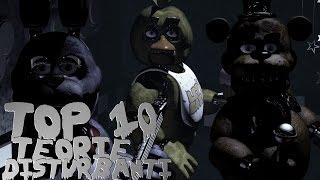TOP 10 TEORIE DISTURBANTI - Five Nights At Freddy's