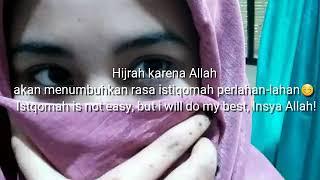 Status untuk wa😊(Hijrah)
