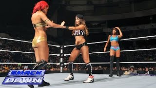 Eva Marie vs. Alicia Fox - Special Guest Ref Nikki Bella: SmackDown, July 18, 2014