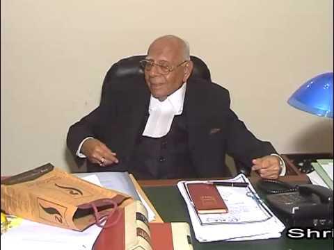 Shri Ram Jethmalani Message on free legal aid, 15 September-2013
