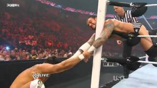 WWE Monday Night Raw 08 August 2011 | CM Punk Vs Alberto Del Rio