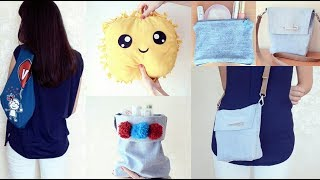 Eski Eşyalara Yeni Hayat! 5 Mükemmel Fikir!   5 Cool Things to Make From Old Clothes
