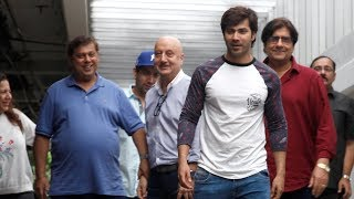 SPOTTED: Varun Dhawan with his Family for David Dhawan