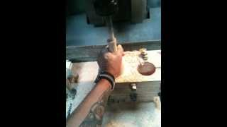 wooden bottle making