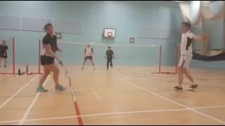 Oldham and Rochdale Badminton League Handicap 2016 mixed final