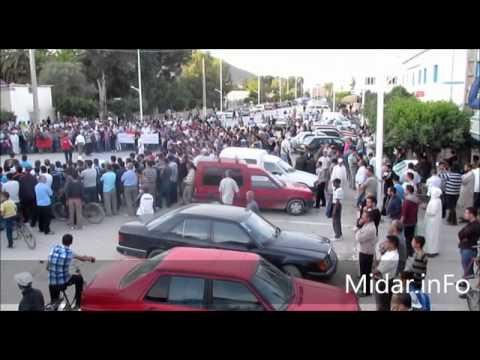 مسيرة حاشدة متوجة بمهرجان خطابي بميضار Midar.inFo