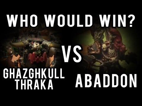 watch Ghazghkull vs Abaddon Warhammer 40k Battle Report - Who Would Win Ep 43