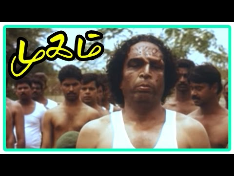 Mugam Tamil Movie | Scenes | Nasser rejected at army selection | Manivannan teases Nasser