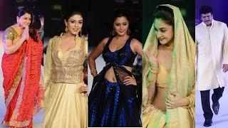 Celebrities walk the ramp for Sanjana Jon at CIFW 2014 Day 2 Part 2