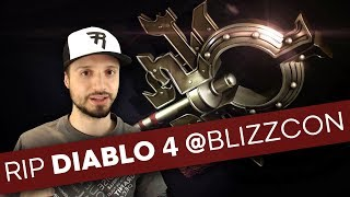 Why People Are Freaking Out About Diablo 4 at Blizzcon 2018; Diablo 4 confirmed...