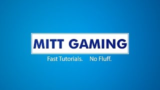Welcome to Mitt Gaming