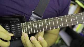 Flamme Kapaya - Soukous Guitar Transcription - Alerte Generale (Werrason) - Rehearsal Excerpt 2