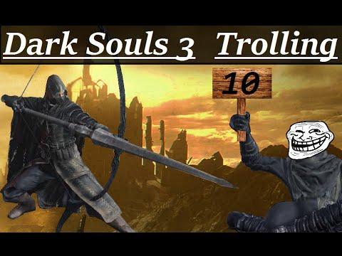 троллинг в dark souls 3