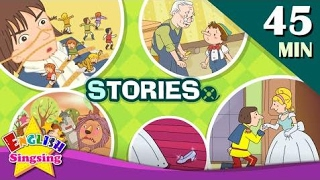 Cinderella, Snow White+More Kids Stories   Learn English for Kids   Collection of Easy Story