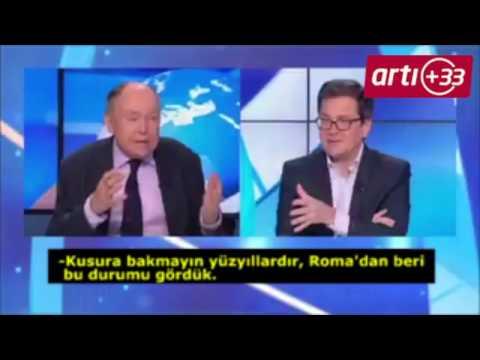 Fransa'da canlı yayında şok sözler: Ya iç savaş ya da Erdoğan öldürülecek!