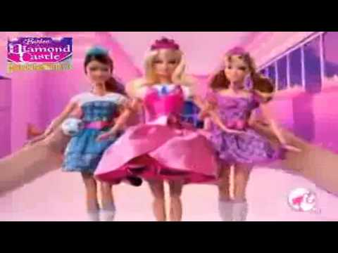 Barbie: Princess Charm School - 3 in 1 Transforming Blair and Friends - Doll Commercial - barbie mov