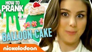 How to Prank | Kira Kosarin Makes a Balloon Cake | Nick