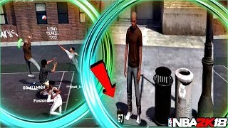 HOW TO DOMINATE WITH SHOT CREATORS NBA 2K18 -67 OVERALL GREEN DRIBBLE PULL UPS