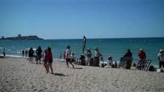 bareskin sells at the beach!.mp4