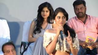 Actress Regina cassandra cute speech at Gemini Ganesanum Suruli Raajanum Audio Launch