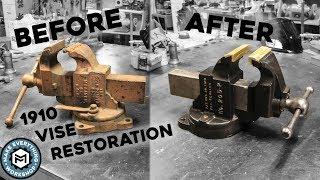 Vise Restoration | 1910 Chas Parker 205-P