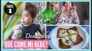 RECETA  DESAYÚNO PARA BEBÉ MAMÁ-AMA DE CASA Reishel La Super Mamá