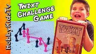 TWIXT Game of CHALLENGE and Strategy Use Your Brain Skills! HobbyKidsTV