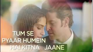 Dheere Dheere Se Meri Zindagi Full HD Song with LYRICS   Hrithik Roshan, Sonam Kapoor   Yo Yo Honey